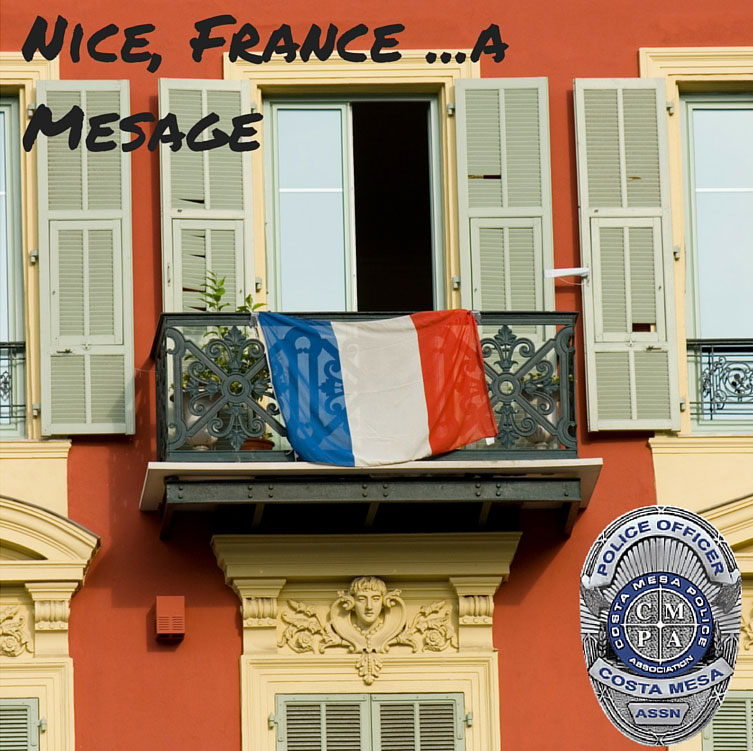 Nice, France…A Message: