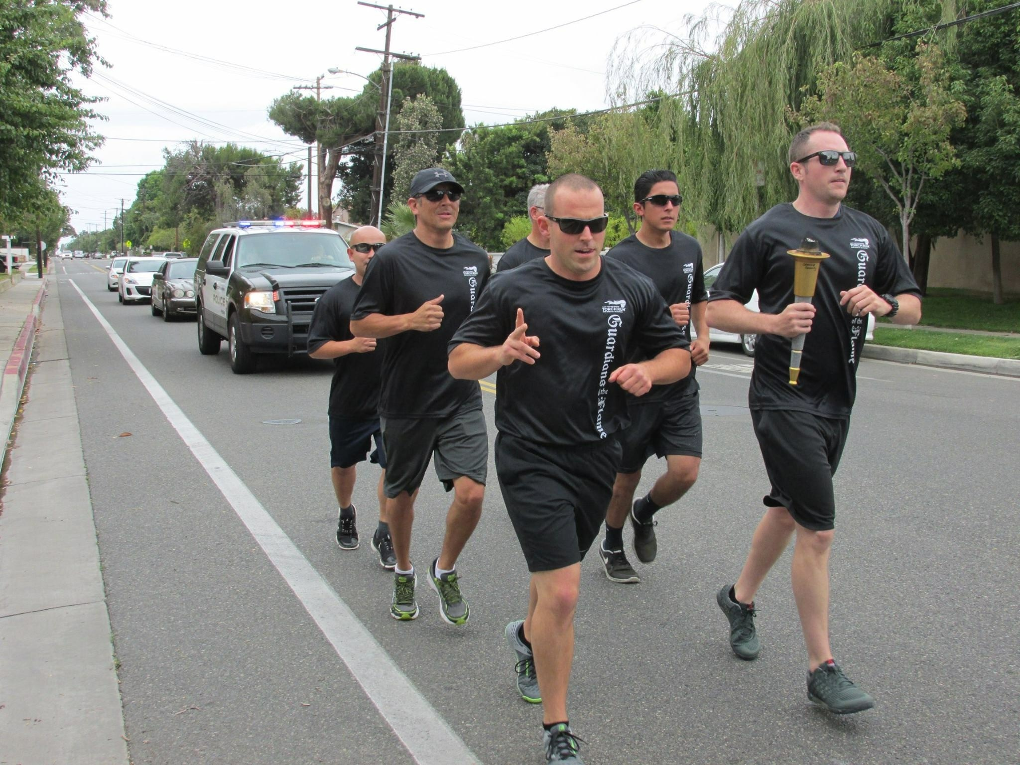 Special Olympic Torch Run 2015