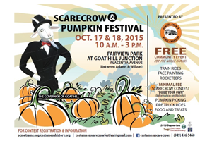 Scarecrow & Pumpkin Festival this Weekend!